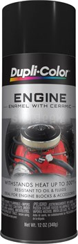 PlastiKote® 203 Universal Black Engine Enamel Paint - 340 Gram (12 oz) Aerosol Can