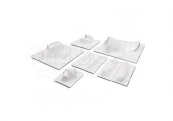 PM Research PM-168 Piper PA-60 Aerostar Left, Right & Center Tail Tip 3-Piece Erosion Mask Set