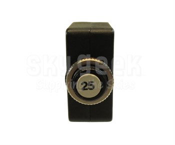 Potter & Brumfield W58-XC4C12-A25 Push to Reset Thermal Circuit Breaker - 25 AMP