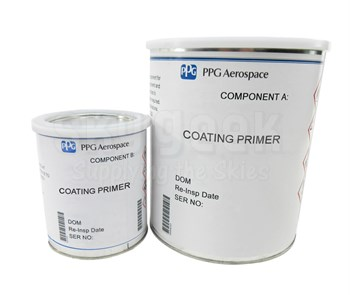 PPG Aerospace® Deft® 02Y040A Yellow MIL-PRF-23377 Type I, Class C2/MCS 9053 Type 1 Class 1 Grade 1 Spec High Solids Epoxy Quick Dry Primer - Gallon Kit