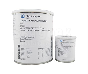 PPG Aerospace® Deft® 44-GN-072 Green MIL-PRF-85582 Type I, Class C2/MMS-423 Spec Water Reducible Epoxy Primer - Gallon Kit
