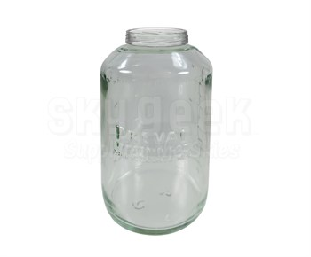 Preval 0466 Glass 6 oz Sprayer Unit Jar without Cap