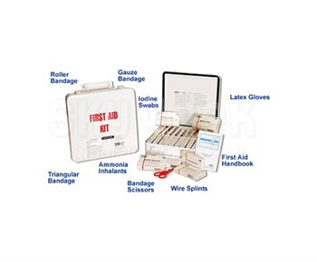 EAM Worldwide RE1013-104 FAK No. 4 First Aid Kit