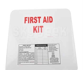 EAM Worldwide RE1013-107 FAK No. 5 First Aid Kit