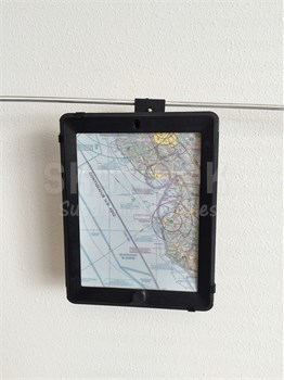 Rosen R1063000-1 Two Hook Universal Monorail iPad (iPads with OtterBox cases) Mount Assembly