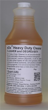 eOx® 2530-115 Heavy-Duty Cleaner & Degreaser (HDC) - 32 oz Trigger-Spray Bottle