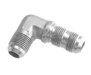 Aerospace Standard AS1038-0808 Steel 90° Elbow, Tube
