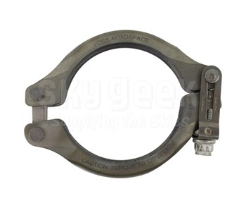 Aerospace Standard AS1895/1-250 Crescent Steel Coupling, Clamp, Grooved