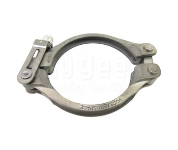 Aerospace Standard AS1895/4-250 Crescent Steel Coupling, Clamp, Grooved