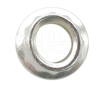 Aerospace Standard AS20625 Nut, Self-Locking, Extended Washer, Double Hexagon