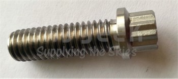 Aerospace Standard AS3236-10 Nickle Bolt, Externally Relieved Body