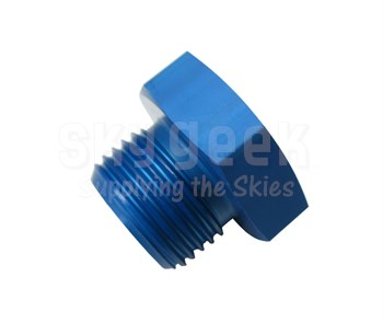Aerospace Standard AS5169D08 Aluminum Plug, Machine Thread