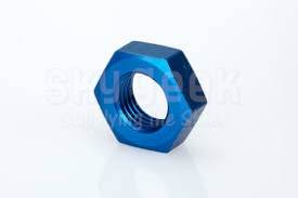 Aerospace Standard AS5178D12 Aluminum Nut, Plain, Hexagon