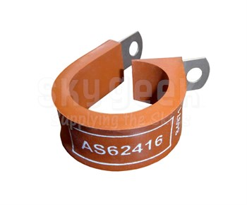 Aerospace Standard AS62416 Clamp, Loop Style, Cushioned