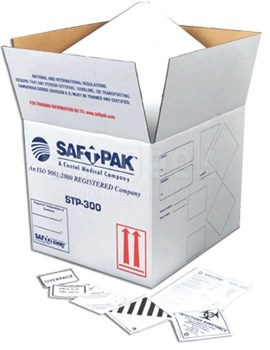 Saf-T-Pak STP-300 Category A Shipping Overpack - Styrofoam Insulated