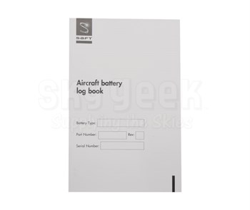 SAFT 016493-000 Ni-Cad Aircraft Battery Logbook