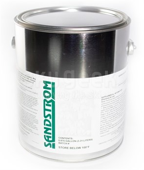 Sandstrom 9AV-35 Mod 1 Amber Heat Cure Epoxy Coating - Gallon Can