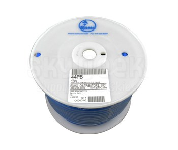 "Seal Pneumatics 44PB .25"" Dia - Blue - Poly Flo Tube"