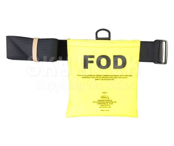 "Seitz Scientific FOD-1 Fluorescent Yellow FOD Bag with 58"" Belt"