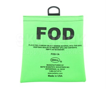 Seitz Scientific FOD-1A Fluorescent Green FOD Bag with Belt Loops