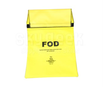Seitz Scientific FOD-3 Fluorescent Yellow FOD Bag attaches to Maintenance Stand Hand Rail