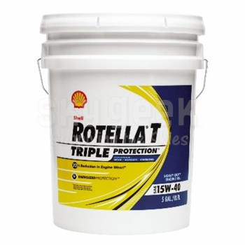 Shell Rotella T4 >> Shell Rotella T4 Triple Protection 15w 40 Ck 4 Heavy Duty Diesel Engine Oil 5 Gallon Pail
