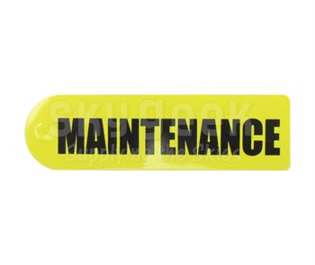 "Skylox 296050006 Skytag ""Maintenance"" Warning Tag"