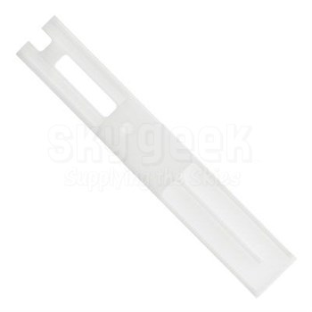 SOCOMORE 311/12/06 Skyscraper™ White POM 12mm Wide Boeing Profile Fluted Sealant Removal Tool