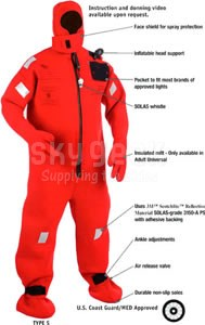 Stearns I590 Stearns 1590 Cold Water Immersion Suit- Type S