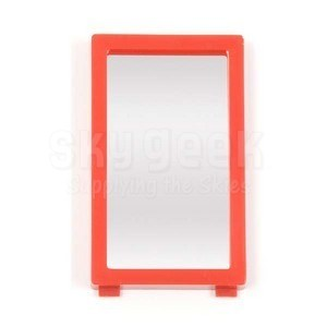 "Steelman 05152 Replacement 4X Mirror for Inspection Lights - 1.5"" x 2.5"""