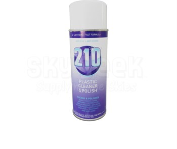 Sumner Laboratories 210 Plastic Cleaner & Polish - 14 oz Aerosol Can