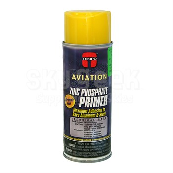 TEMPO® Aviation A-701 Yellow Zinc Phosphate Primer Paint - 340 Gram (12 oz) Aerosol Can