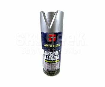 TEMPO® Aviation A808 Dull Aluminum Aircraft Lacquer Paint - 340 Gram (12 oz) Aerosol Can