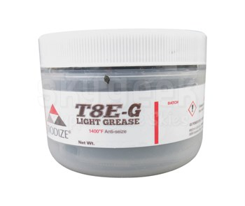TIODIZE® T8E-G Gray GE Power 132T9986 Spec 1400°F Anti-Seize Light Grease - 227 Gram (8 oz) Jar