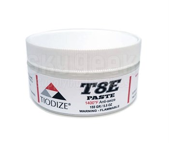 TIODIZE® T8E Gray PWC36246 Spec 1400°F Anti-Seize Paste - 155 Gram (5.5 oz) Jar