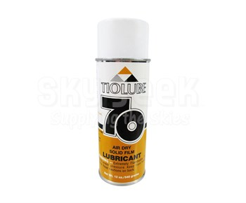 TIODIZE® TIOLUBE® 70 Gray MIL-L-23398D Type II Spec Air Dry Solid Film Lubricant - 12 oz Aerosol Can