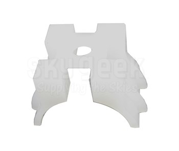 Thomas & Betts TC92 Ty-Rap Cable Tie Saddle Mounting Plate - 100 Pack
