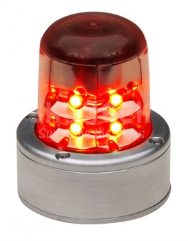 Whelen 01-0771055-01 Model 7105501 Red 28-Volt LED Anti-Collision Beacon  Assembly