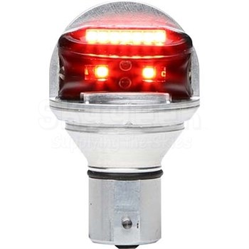 WHELEN® 01-0771900R28 Model CHROMA2R 28-Volt Red LED Position Lamp
