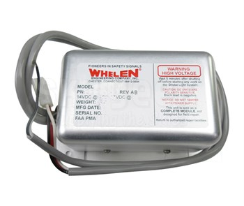 Whelen 01-0770006-09 Model A490TCCF Strobe Power Supply