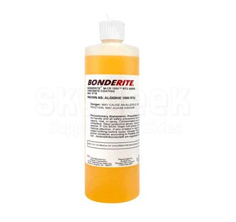 "Henkel 006798 Alodine 1200S ""Ready to Use"" Conversion Coating - 16 oz Bottle"
